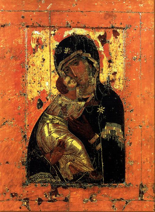 Tanrı Anasının Don Simgesi (fotoğraf)